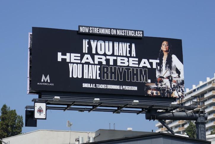Masterclass heartbeat rhythm billboard