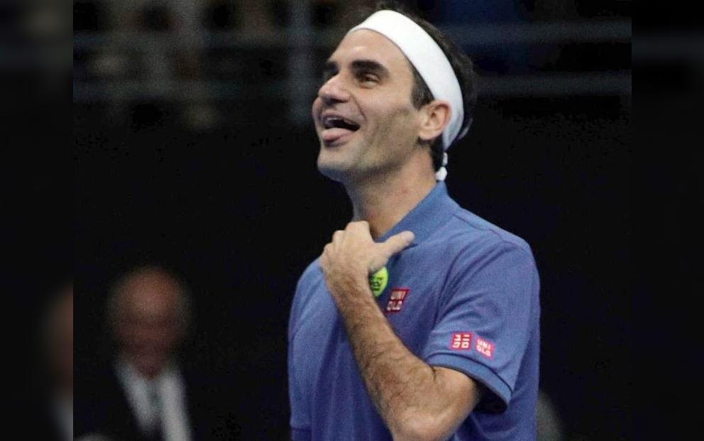 Las frases que dejaron a Roger Federer muerto de la risa en su debut en Chile