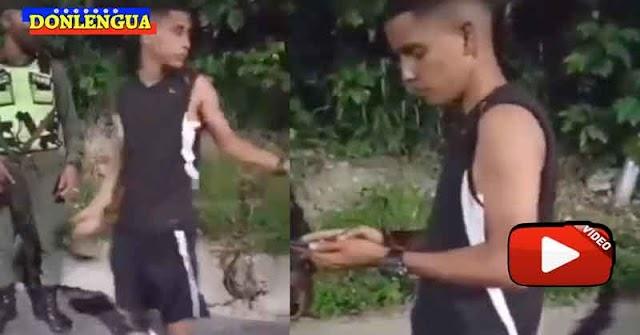 Así se defendió el policía malandro que mató a 3 personas con su carro en La Guaira