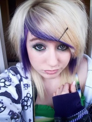 cool emo girl hairstyle 2011
