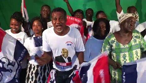 Musician Lukcy Mensah Dumps NDC For NPP
