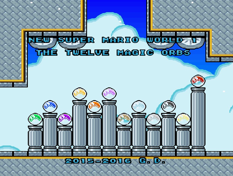 Baixar Rom New Super Mario World 1 The 12 Magic Orbs