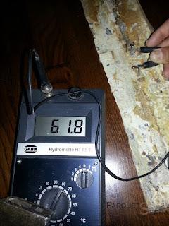 Medir la humedad en la madera