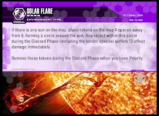 Environment type: Solar Flare