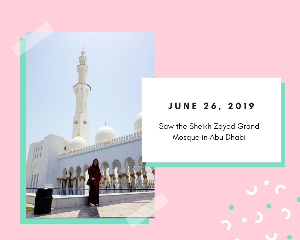 Sheikh Zayed Grand Mosque | Renee Alexis
