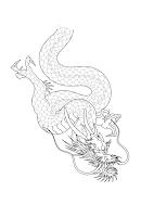 дракон рукав тату в уфе
