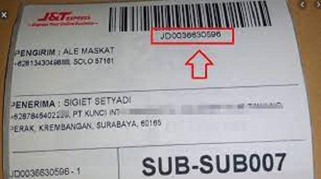 Cara Lacak Paket J&T