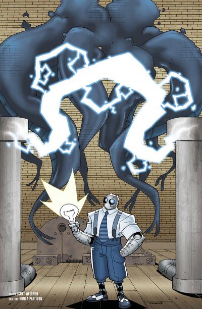 Atomic Robo - tome 3 - Atomic Robo affronte une créature du temps tentaculaire