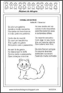 Cordel do gatinho