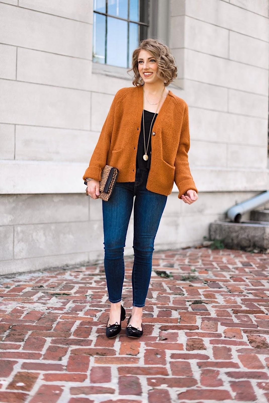 Burnt Orange & Black for Fall - Something Delightful Blog