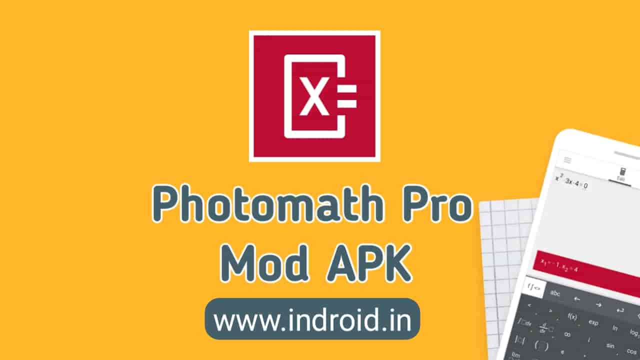 Download Photomath premium mod Apk