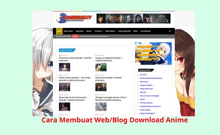 Cara Membuat Web/Blog Download Anime Seperti Samehadaku