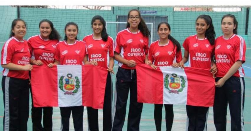 Selección peruana escolar de voleibol buscará reinar en los «Juegos Sudamericanos Escolares»