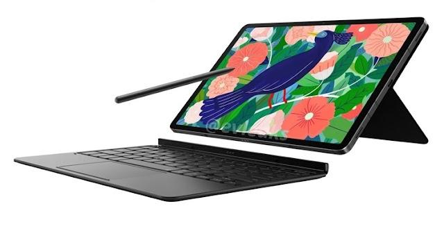 Samsung Galaxy Tab S7 tabletinin donanımını ortaya çıkardı Snapdragon 865 ve 8000 mAh pil