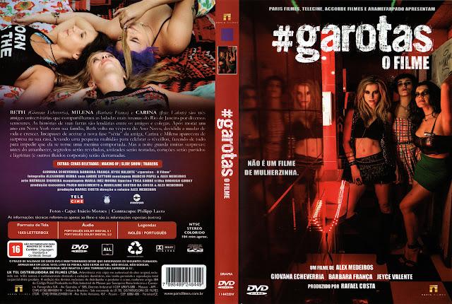 Capa DVD #garotas O FILME