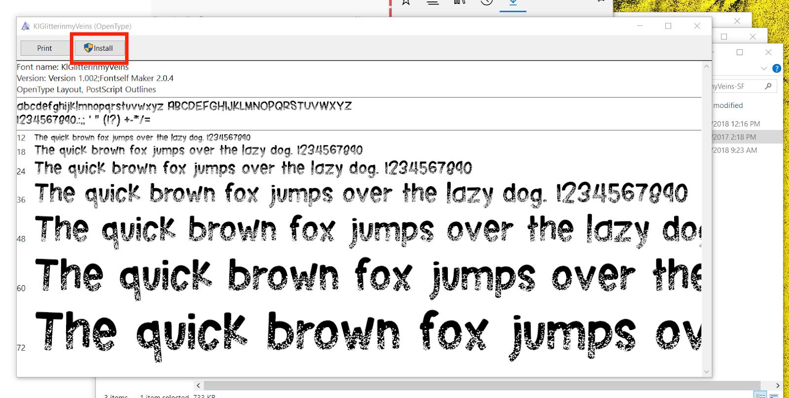 Beginner Silhouette Studio V4 Font Tutorial: How to Add New