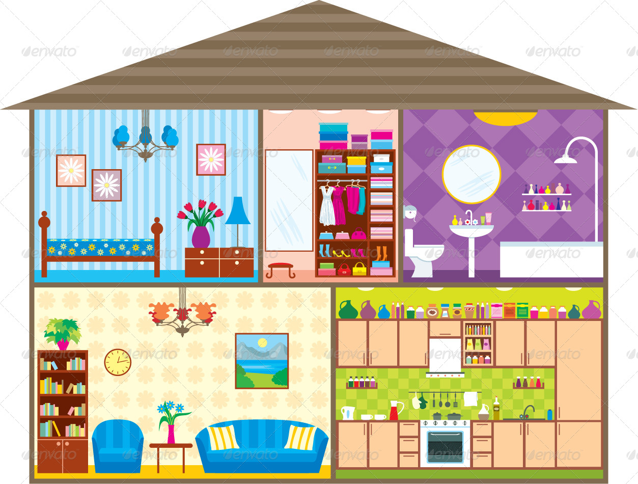 Try to describe this house using