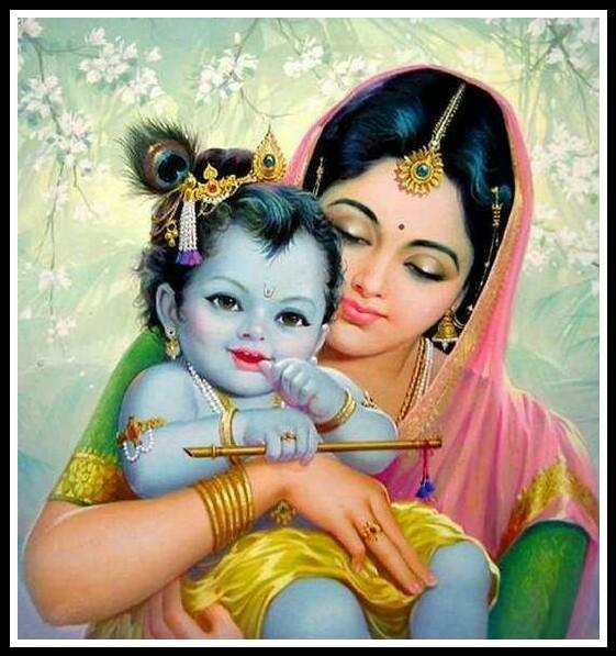 lord krishna yashoda images