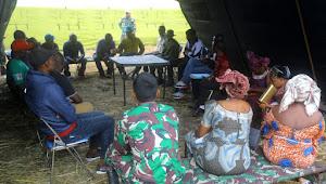 Personel Satgas RDB Sosialisasi Pencegahan Virus Corona Di Lubichako Kongo