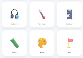 free 3D icons