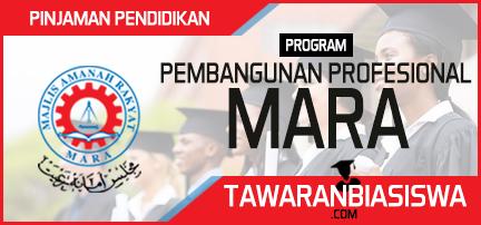Pinjaman Pendidikan Program Pembangunan Profesional MARA