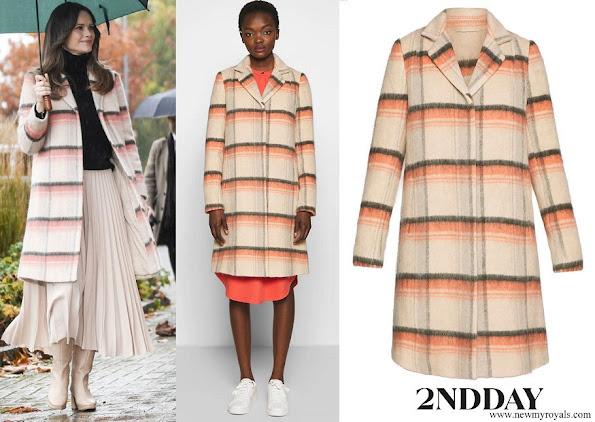 Princess Sofia wore 2nd Day Leona Brushed Coat