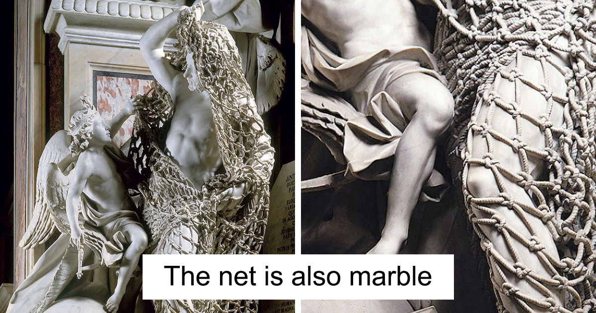 Italian Sculptor Worked On A Marble Masterpiece For Seven Years And The Result Is Breathtaking
