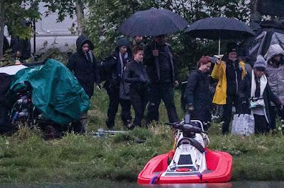 Black Widow: Photos of Scarlett Johansson in Marvel film leaked online