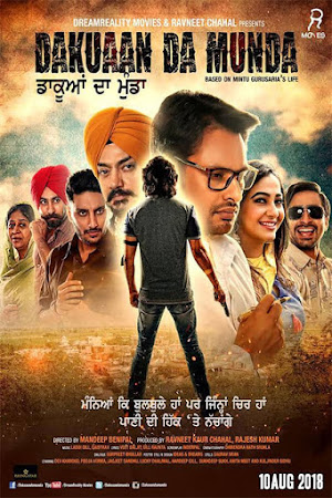 Poster Of Punjabi Movie Dakuaan Da Munda 2018 Full HD Movie Free Download 720P Watch Online