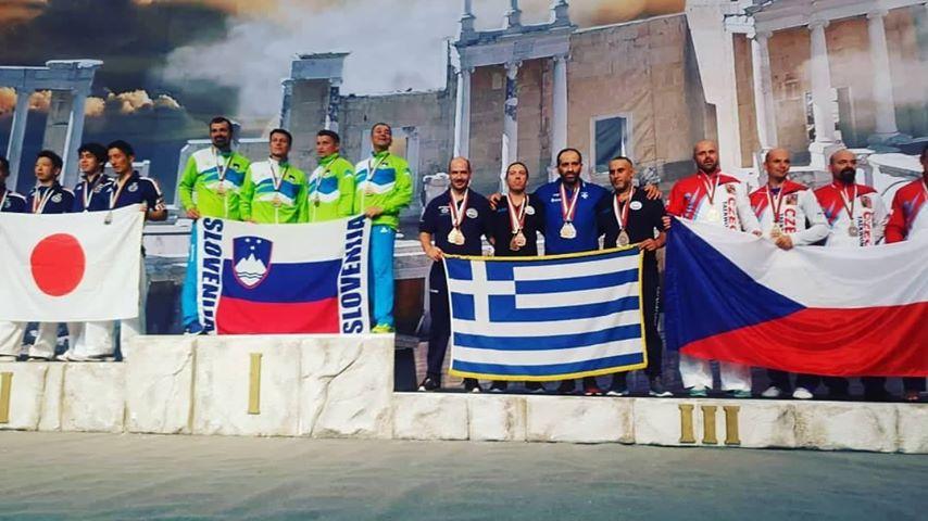 Μια ακόμα μεγάλη  επιτυχία για τον Χαλκιδικιωτη πρωταθλητή Χριστόφορο Μποζινη και τον μαθητή του Σταυρο Τοκμακιδη!