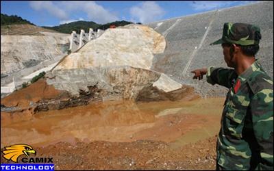 Nâng cấp đạt tiêu chuẩn hệ thống xử lý nước thải - Vỡ cống dẫn dòng thủy điện sông Bung 2