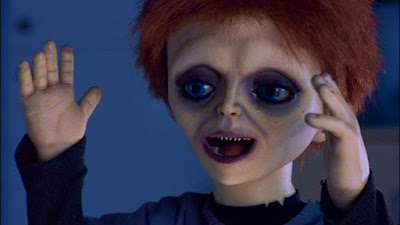 "Glen/Glenda (Billy Boyd) featured in a movie scene from ""Seed of Chucky"" (2004)"