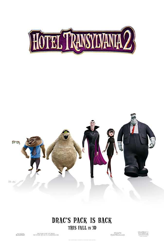 Hotel Transylvania 2 2015 BRRip 720p Dual Audio In Hindi English