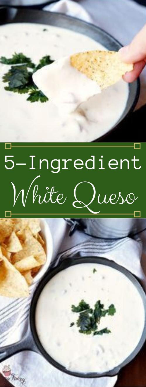 5-INGREDIENT WHITE QUESO #vegetarian #vegan #whole30 #easy #breakfast