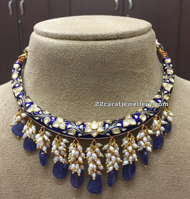Meena Choker with Drops