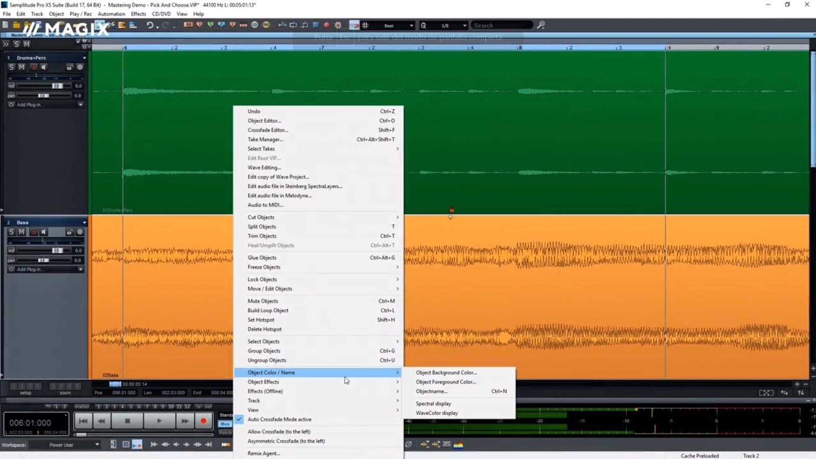 MAGIX Samplitude Pro X5 Suite 16.0.1.28