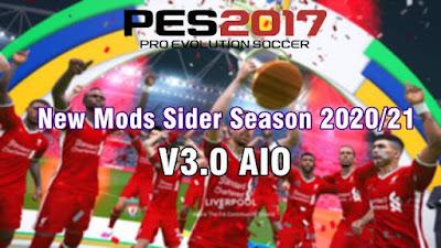 New Mods Sider Season 2020/21 V3 AIO