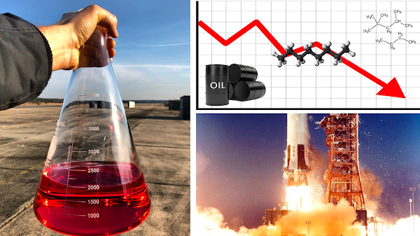 Oil is Negative, Now Launch the Rocket!