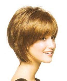 Low Maintenance Fine Hair Short Layered Haircuts 77