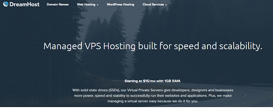 DreamHost.VPS hosting