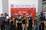 Inti laksana kan Giat Donor Darah , Ketua dan Anggota BPPKB Banten DPC Kota Sukabumi Ikut Donor kan Darah