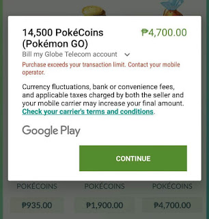 Buy Pokecoins