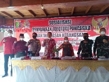 Kostiana Sosialisasikan Pembinaan Idiologi Pancasila dan Wawasan Kebangsaan