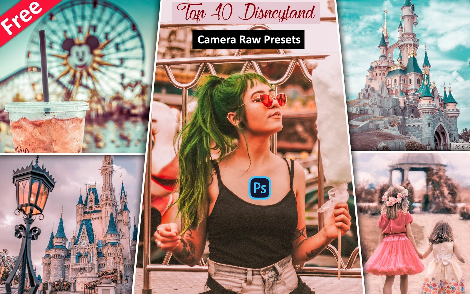 Download Top 10 Disneyland Camera Raw Presets for Free | How