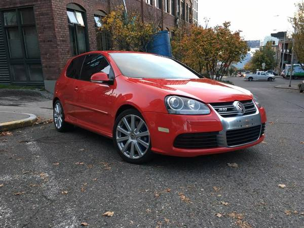 2008 VW R32 AWD Tornado RED