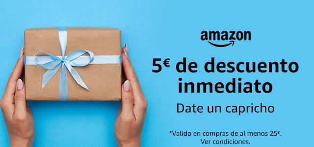 Um desconto de 5€ na Amazon Espanha para quem quiser aproveitar