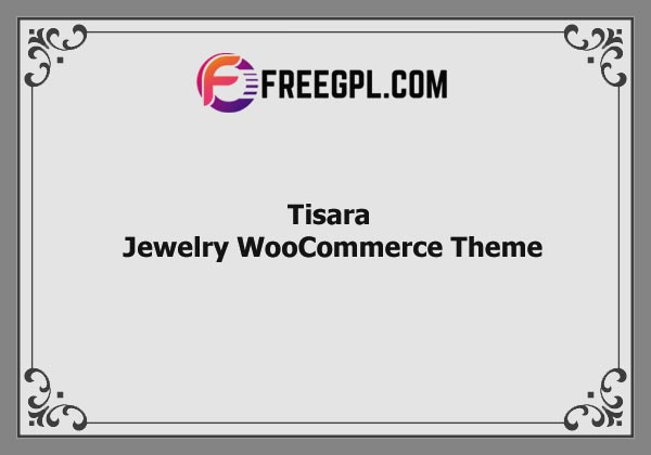 Tisara  – Jewelry WooCommerce Theme Nulled Download Free