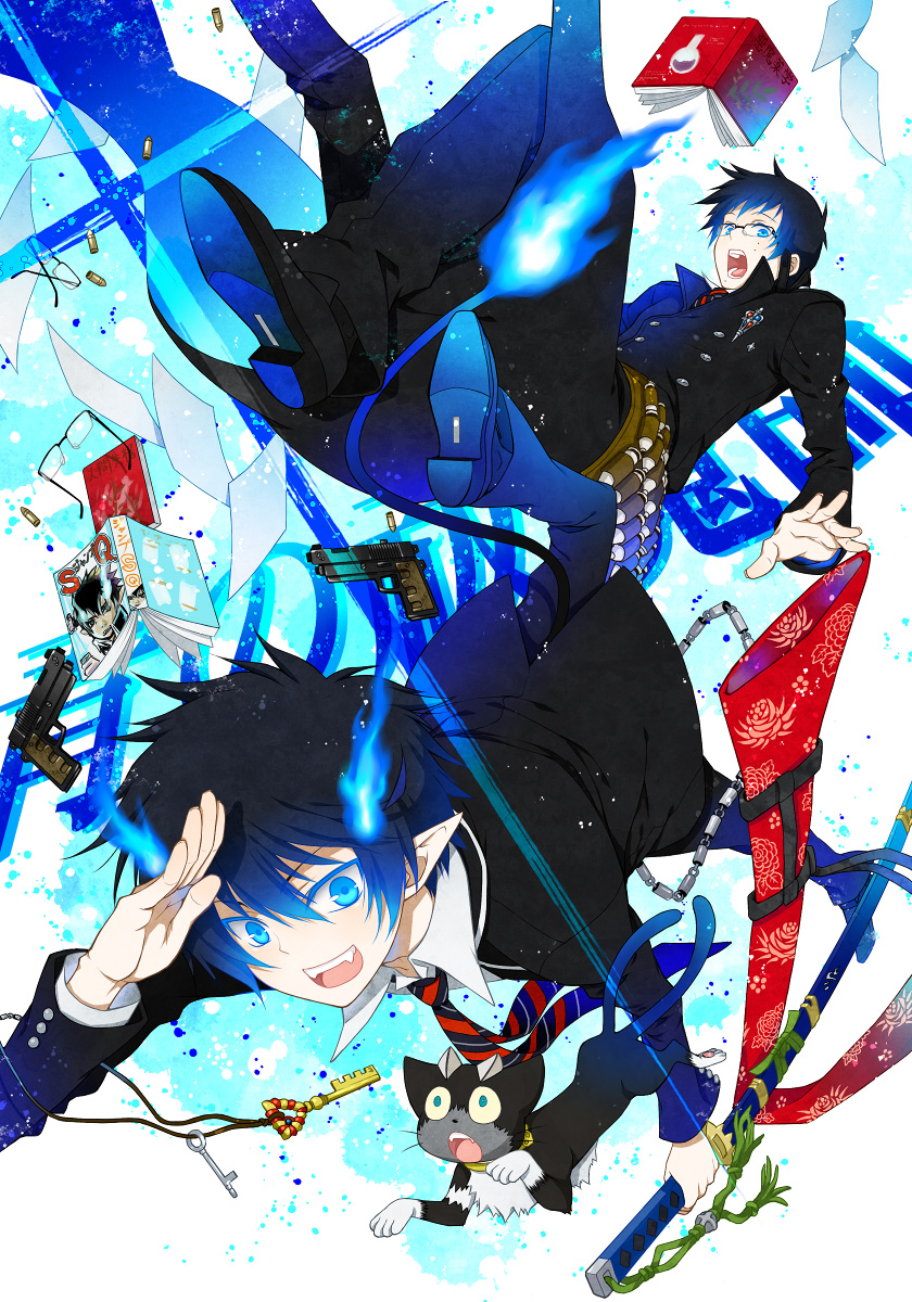 Blue exorcist wallpapers cartoon pictures wallpaper - Blue exorcist wallpaper ...