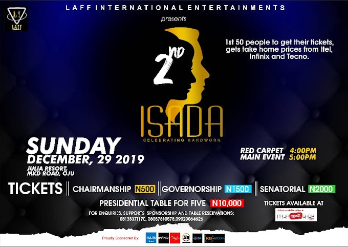 Event : Official 2019 @ I . S . A . D . A poster unveiling