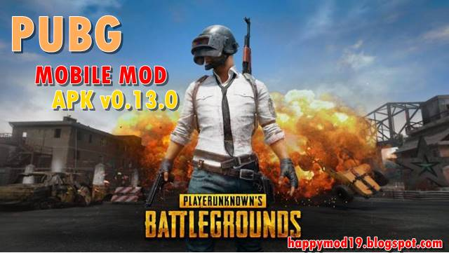 PUBG Mobile Mod Apk v0.13.0 For Android